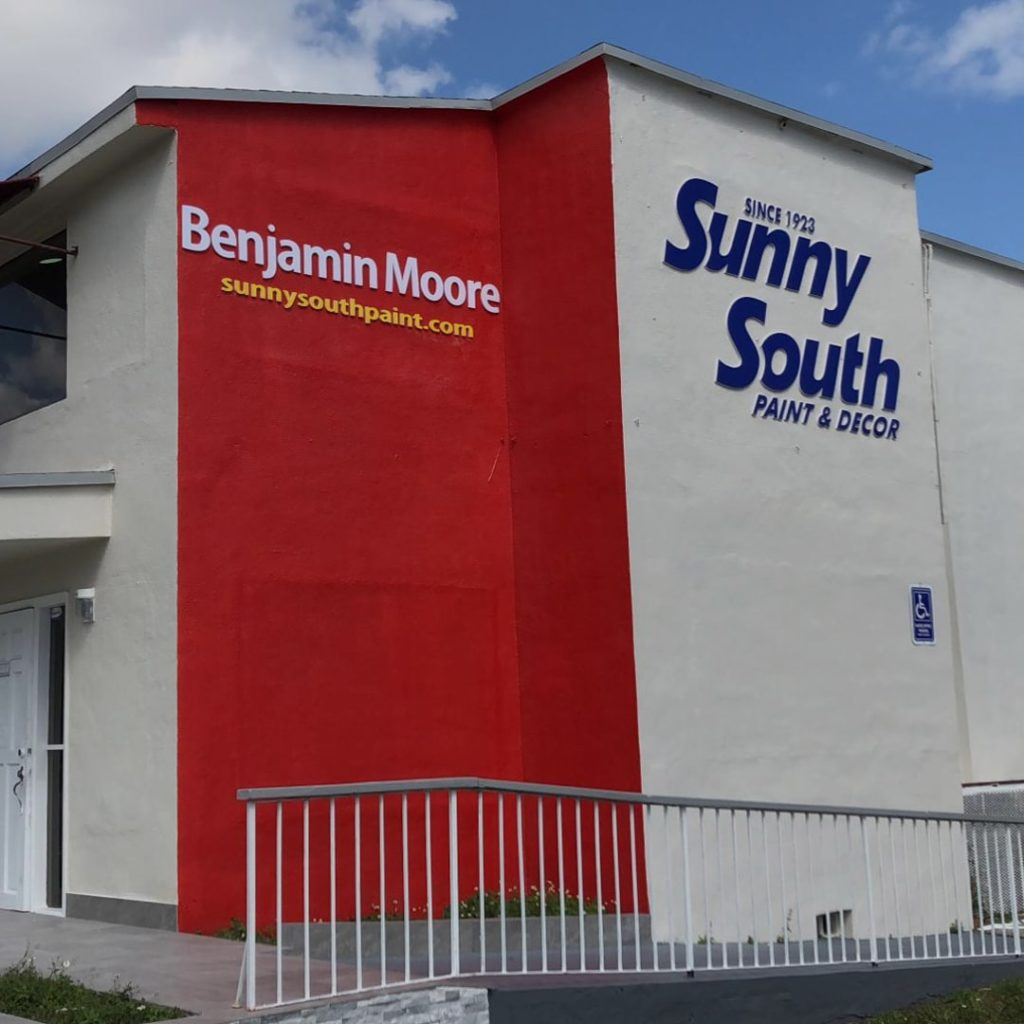 Sunny South Paint Store - Benjamin Moore Retailer