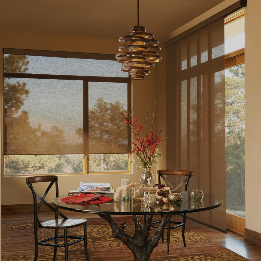 Window treatments from Hunter Douglas